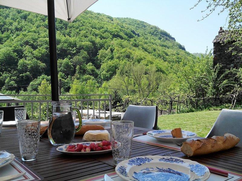 Gîte Chaleureux  Cantal Coeur d'Auvergne Rando,Baignade,Cascades &Découvertes, location de vacances à Saint-Beauzire