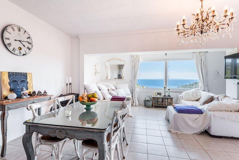 Stunning sea view villa in prime central ibiza