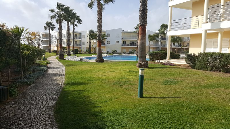 Gardens & Pool area