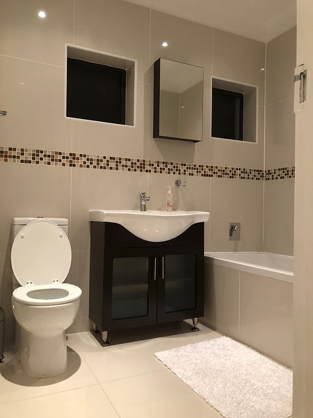 Bathroom with tub only