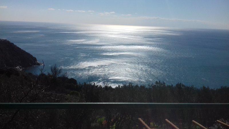 Vista desde el balcón hacia el mediodía