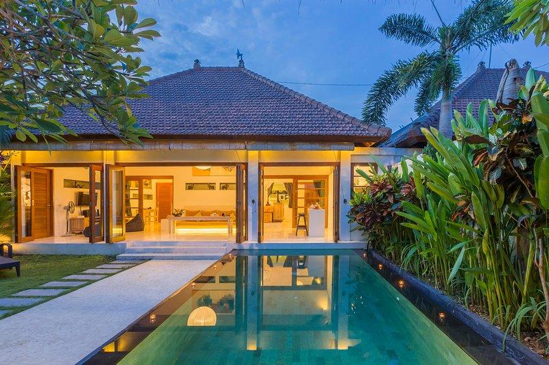 2 dormitorios Poolvilla con jardín tropical y piscina privada