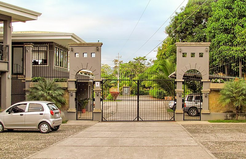 Situated in a safe, gated community