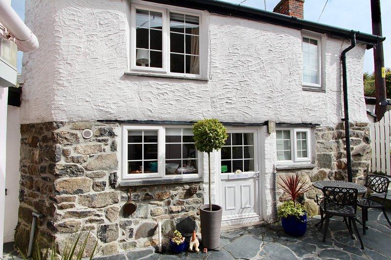 Ginentonic vacaciones Cottage la escapada mejor guardado en The Lizard Cornwall para un descanso tranquilo