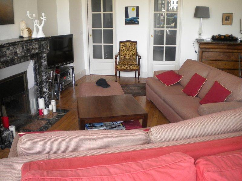 Teilansicht des Wohnzimmers (40m2)
