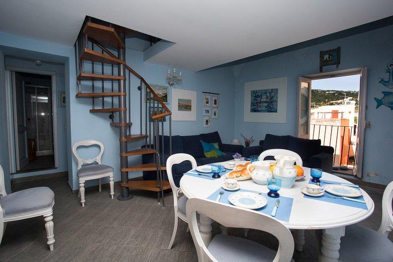 Casa Annamaria Aeolian Island, vacation rental in Aeolian Islands