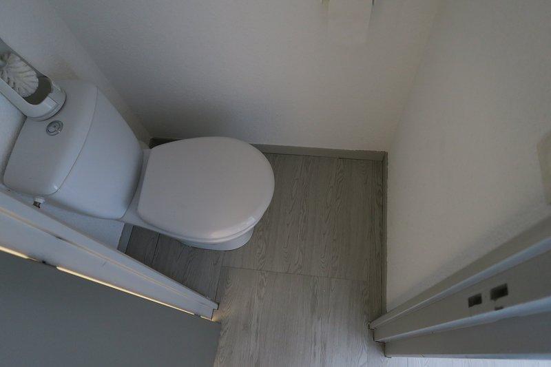 WC no andar de cima