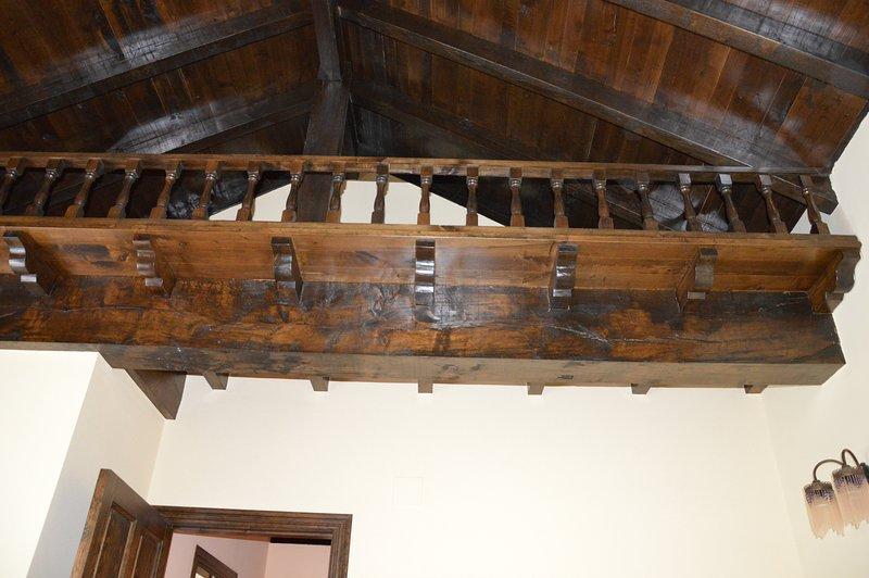 dettaglio camera da letto del soffitto