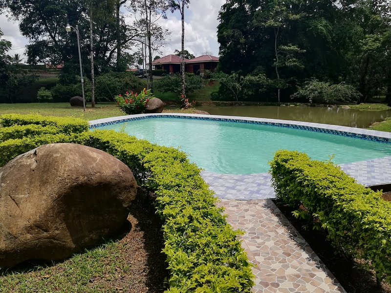 Privated house with pool Near of Arenal Volcano- Green Treasure House #6, vacation rental in Quesada