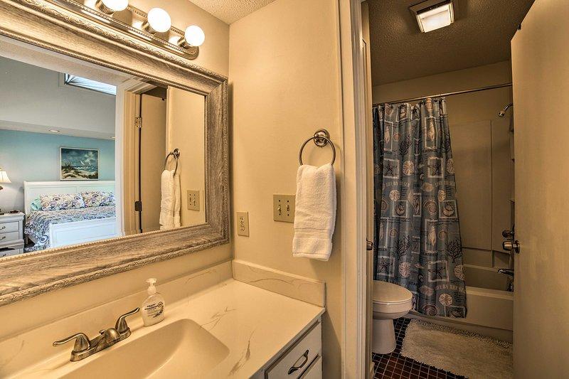 Disegnare un bagno di bolle nel master bagno en-suite.
