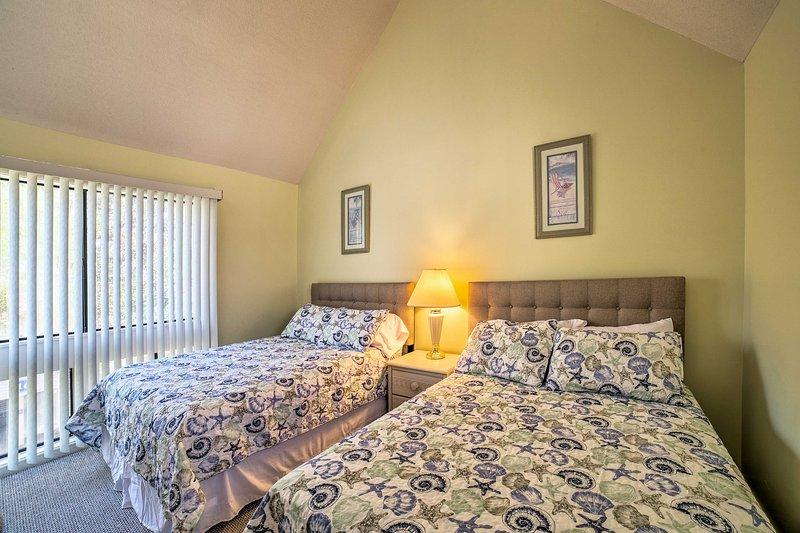 altri quattro ospiti possono dormire nella seconda camera da letto.