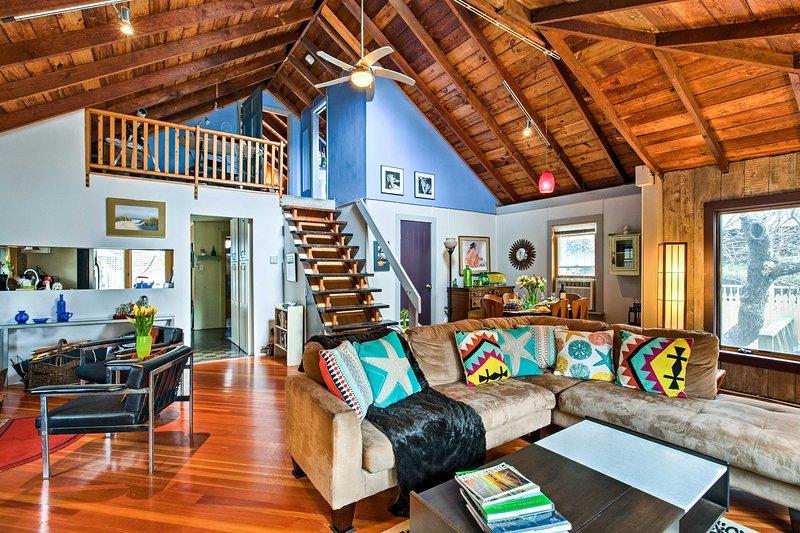 Escape a las costas de la isla del fuego en esta hermosa casa de playa del océano!
