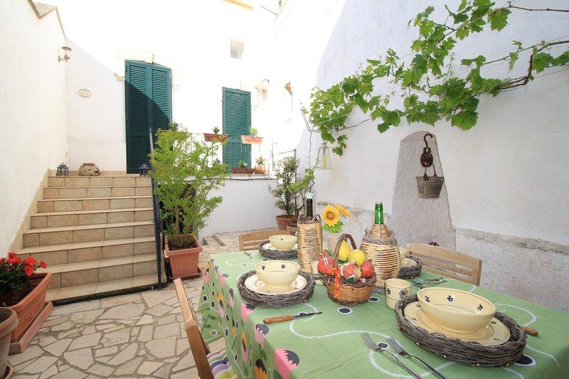 Corte Vite private house, casa vacanza a Morciano di Leuca
