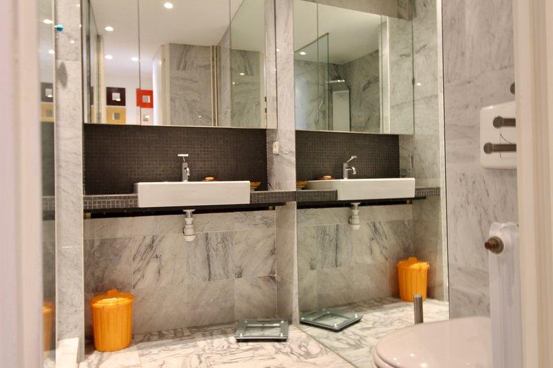 La doccia en-suite