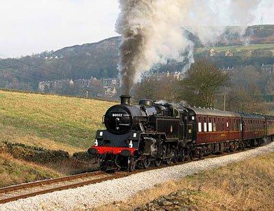 Keighley Worth Valley Railway Steam