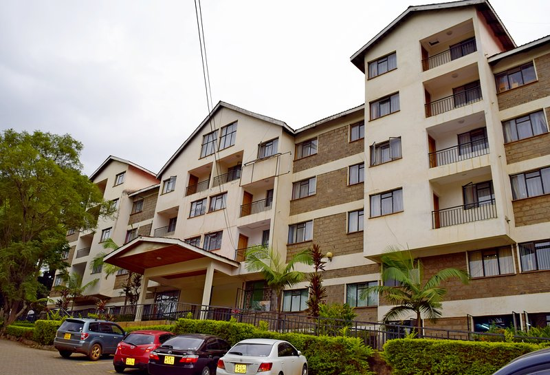 Front of Ywca Parkview Suite,Nairobi