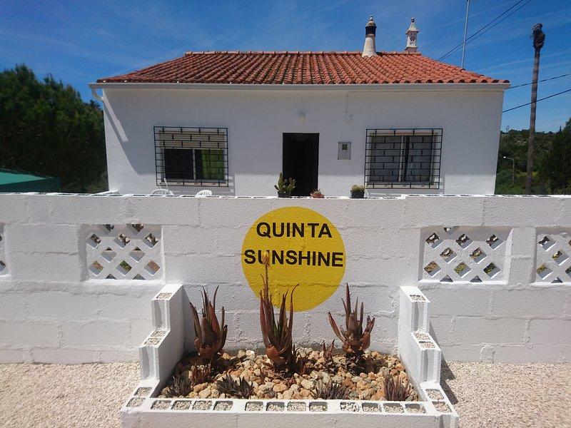Quinta Luce del sole la vostra posizione soleggiata casa lontano da casa per la vostra vacanza nella bellissima Algarve del Portogallo