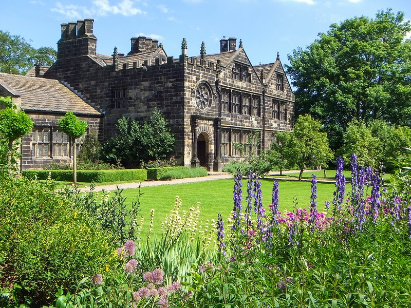 Este Riddlesden Hall del National Trust en Keighley