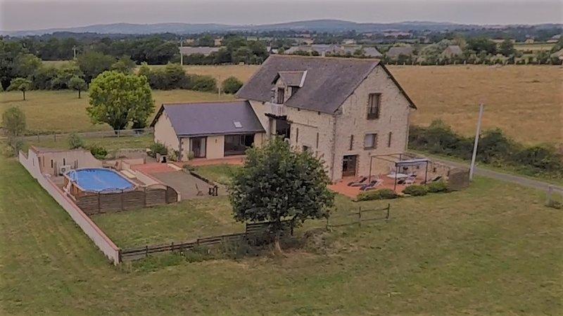 La Grange du Guepier, vacation rental in Champgenéteux