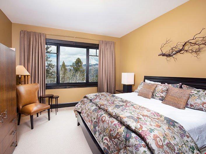 Ottenere un buon riposo notturno nella terza camera da letto.