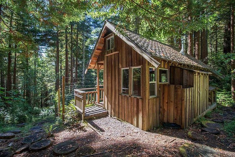 La cabaña rústica