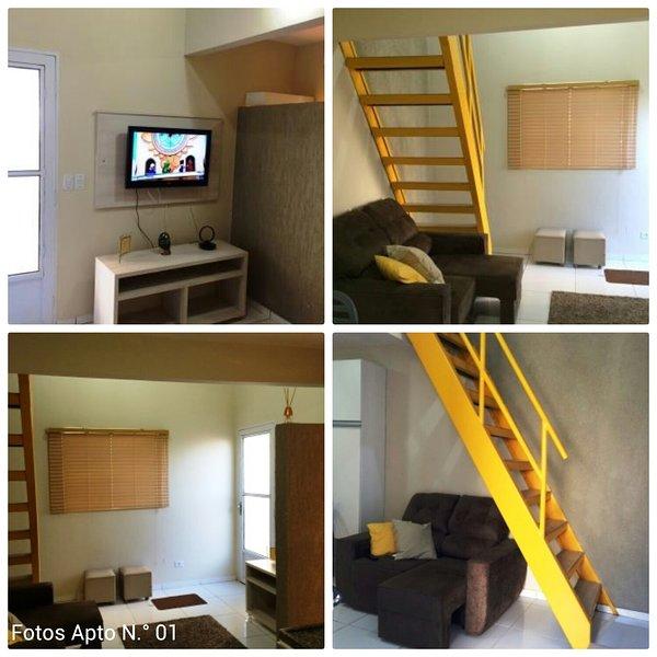 Apto/Flat Completo para estadia temporaria --Campo Grande/MS, holiday rental in Albuquerque