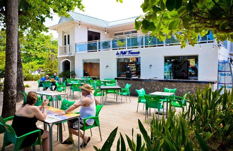 One of the restaurants at EL Pueblito