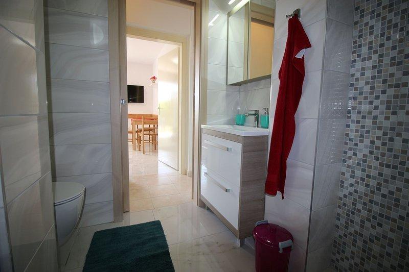 A2(3): bathroom with toilet
