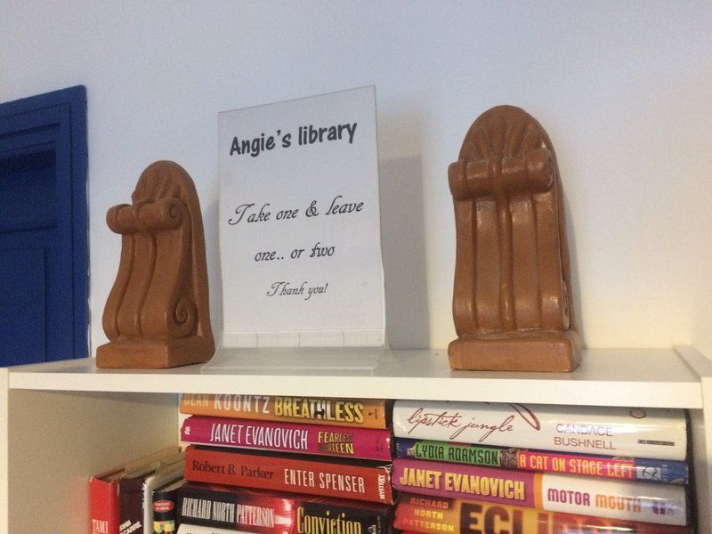 ANGIE'S library