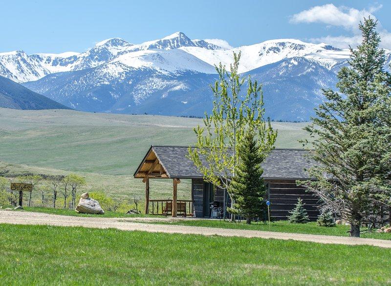 L'incredibile vista dalle nostre cabine!