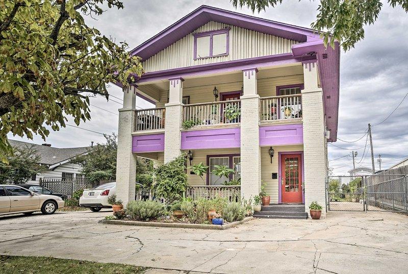 Godetevi una pittoresca vacanza a Oklahoma City in questa affascinante casa per le vacanze