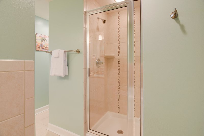 Grand Panama 1806-Walk-in Shower in Master Bathroom