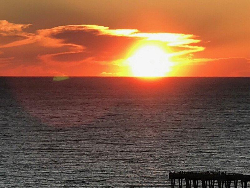 Grand Panama 1806-Sunset from balcony