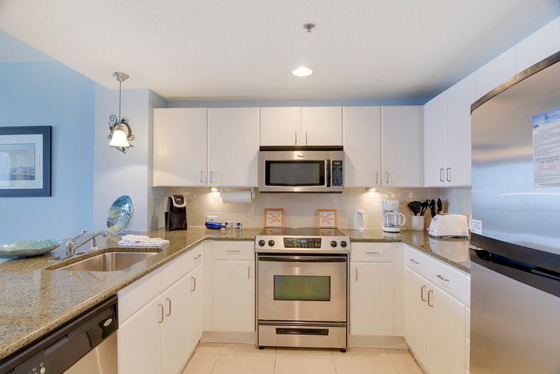 Grand Panama 1806-Fully Equipped Kitchen Area