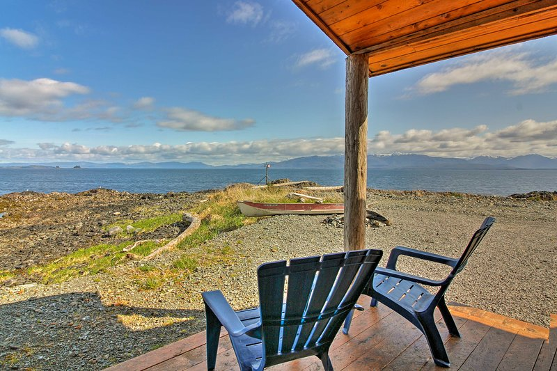 Escape to Coffman Cove and stay at this charming vacation rental cabin.