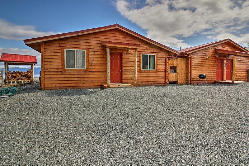 La cabina dispone di 2 camere da letto, 1 bagno e letto per 5 persone.