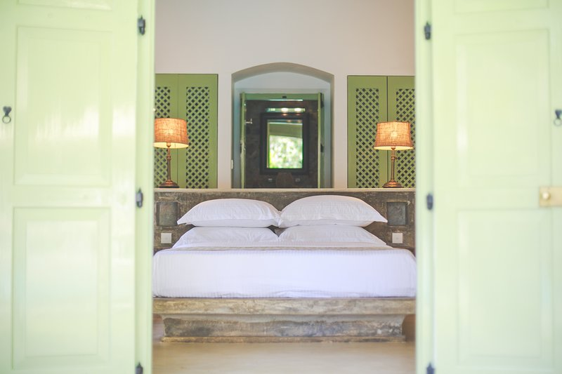 Honey Moon Suite in Villas Gabrielle, a luxury colonial style villa in Ahangama, holiday rental in Ahangama