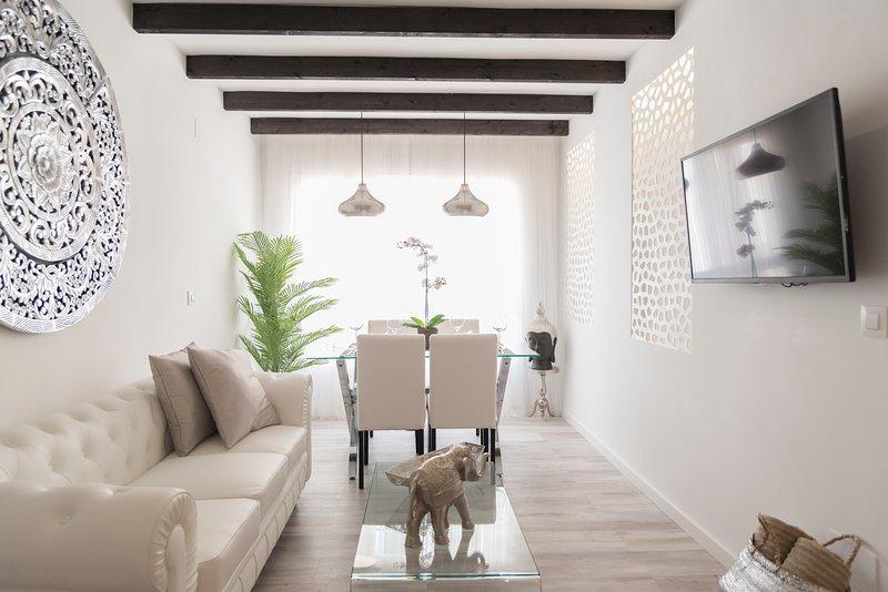 Acogedor apartamento en pleno centro. Parking gratis, alquiler de vacaciones en Málaga