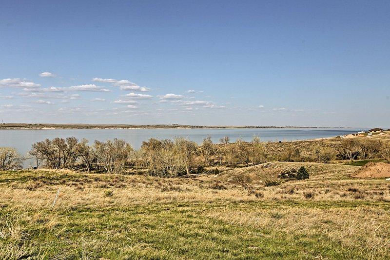Pasar unos días de verano en el lago McConaughy - un escenario ideal de la vida fácil de Nebraska!
