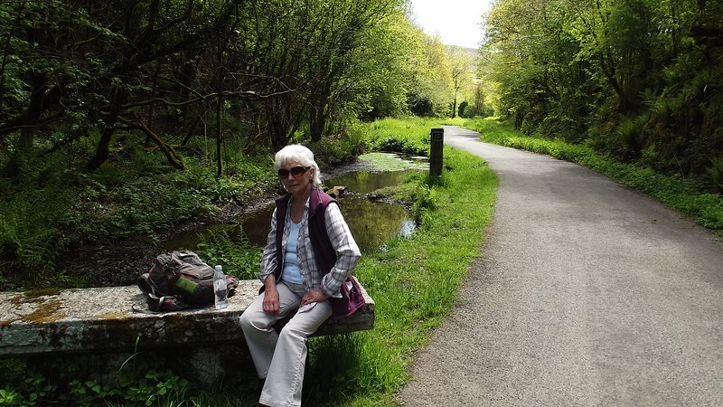 Cycling or walking - the Granite Way is ideal for all ages and abilities
