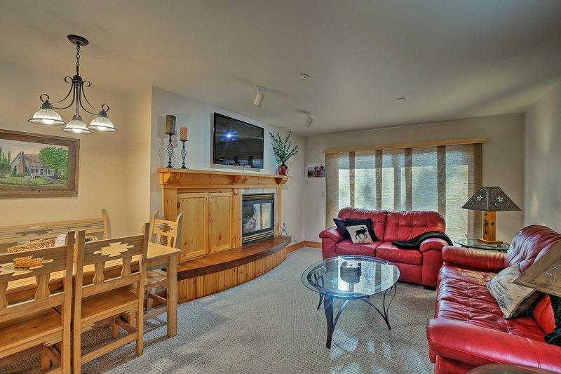 The Teton Valley awaits at this vacation rental condo!