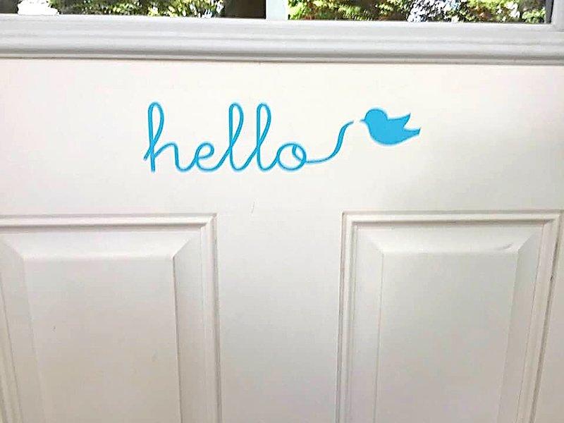 Bonjour? Est-ce Birdsong Cottage vous cherchez?