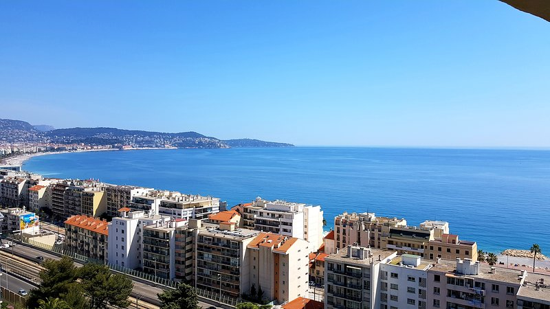 Magnificent view on the Riviera