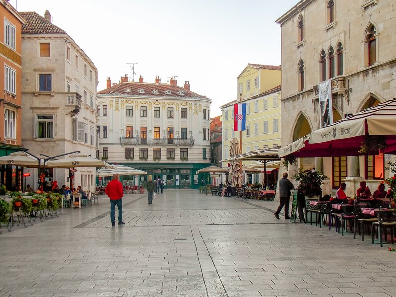 Pjaca (The People's Square), Split (5-min Walk from the Suite)