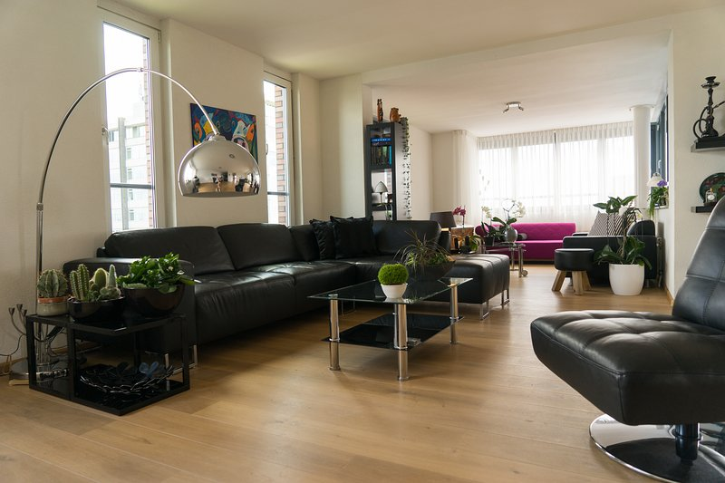Double Private Room in Big Light Apartment, vacation rental in Sloten