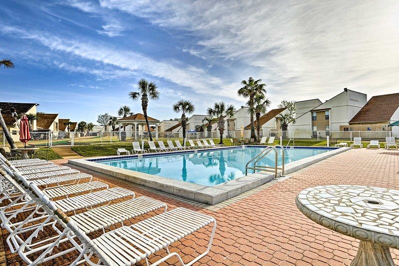 Échapper à Panama City Beach et dans cet 1 lit, vacances condo location 1 salle de bain.