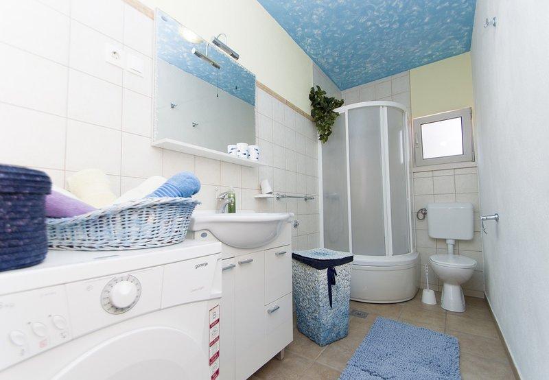 A1 Antica(4+1): bathroom with toilet