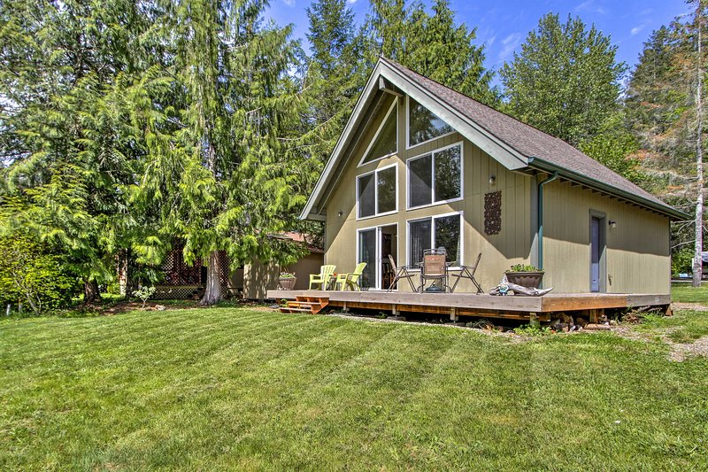 Retreat to blissful nature surrounding this home!