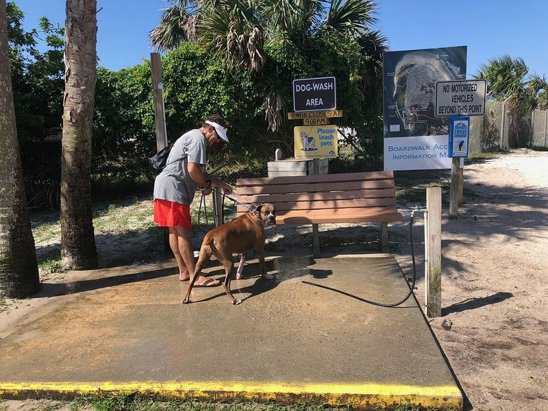 Inlet Dog station.