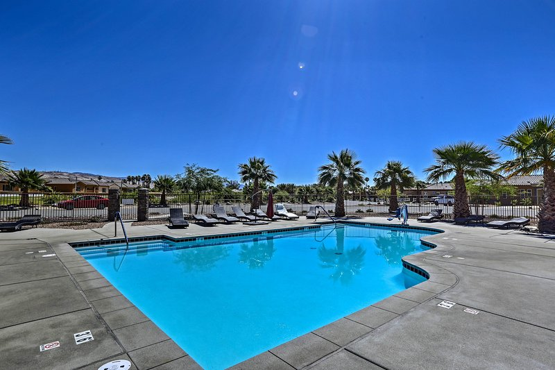 Enjoy access to the resort-style amenities at Desert Princess Country Club.